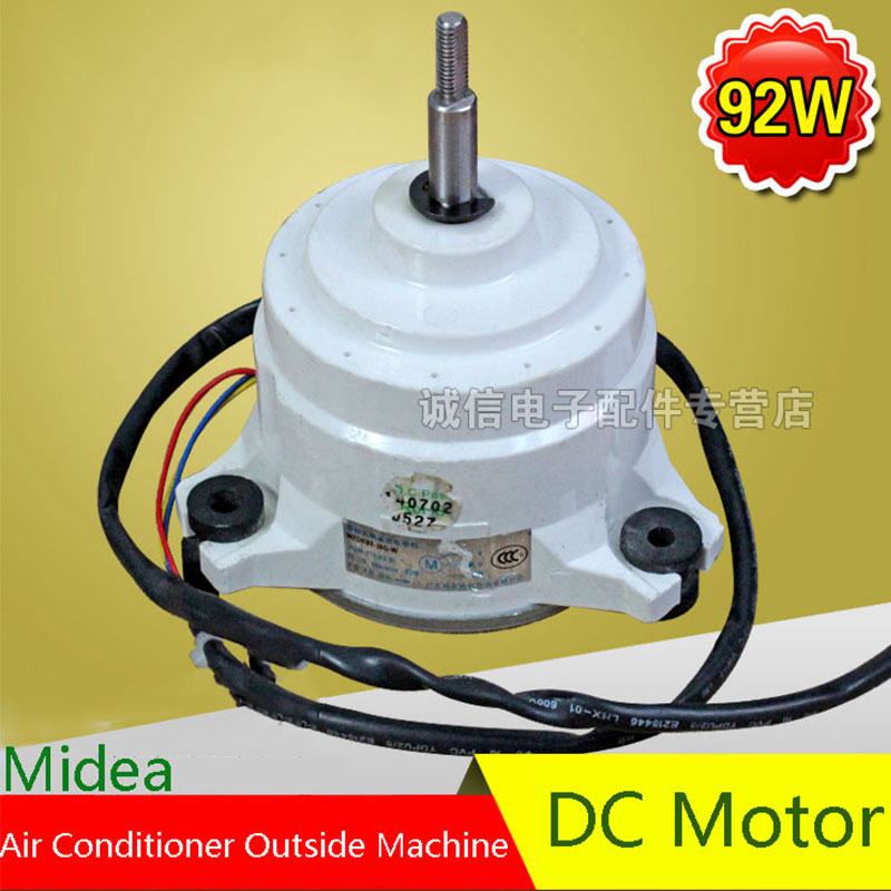 Original For Midea 92W Air Conditioning Fan DC Motor Air Conditioning Parts 95% new original for midea air conditioning fan motor ydk36 4c a ydk36 4g 8 4g 8 36w direction of departure