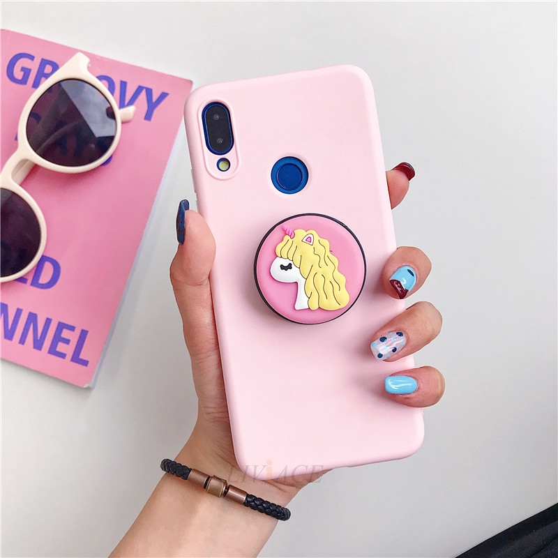 3D Cartoon Phone Holder Standing Case for Xiaomi Redmi Phone Made Of High-Quality Silicone And TPU Material 27