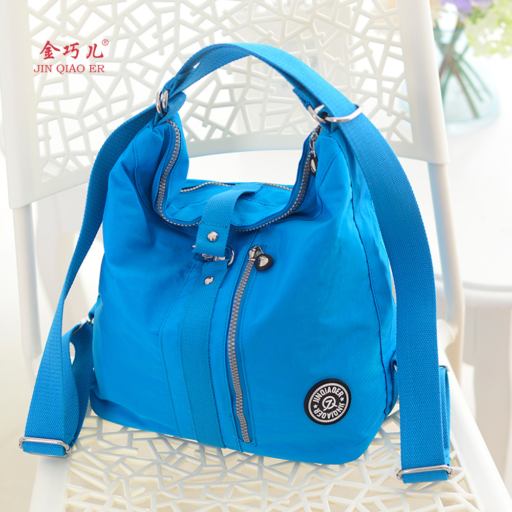 2016 Special Offer JQR Waterproof Nylon Lady Shoulder Bag School High Quality Fashion Kip Style Tote