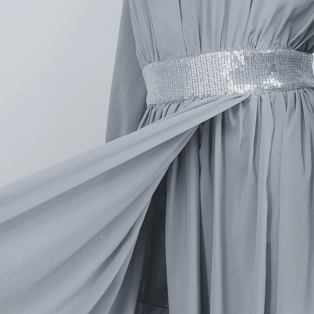 Boho chic sequined maxi summer dress  5