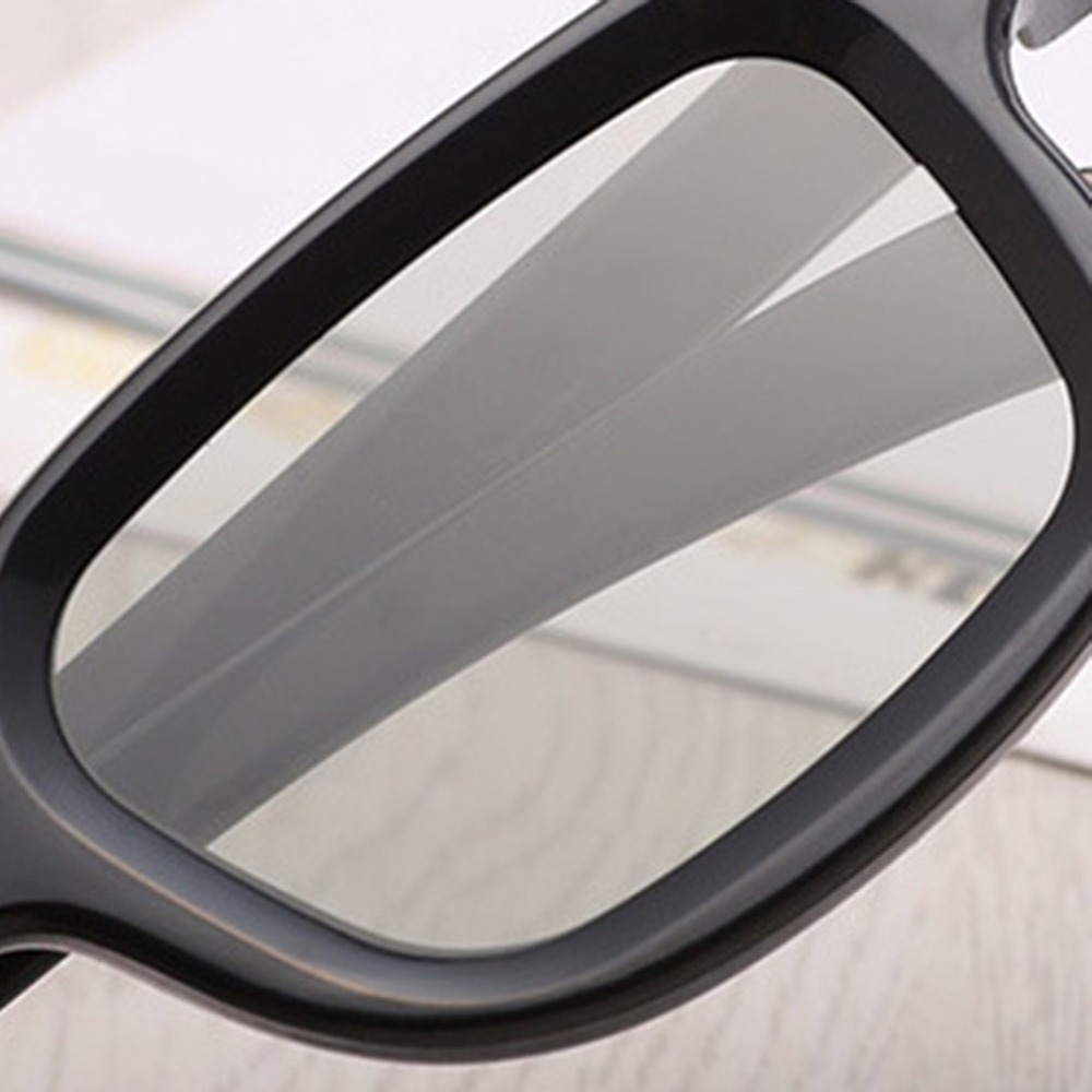 Universal Passive Circular 3D Polarized Movie Glasses Unisex ABS Frame Stereo Not Flash For 3D TV Cinemas Pakistan