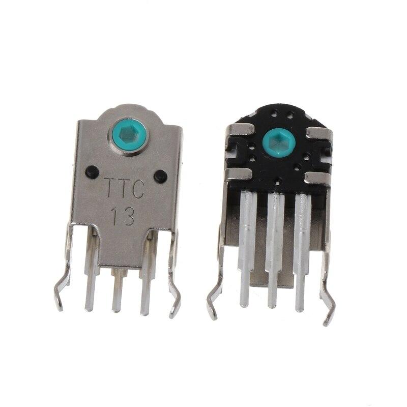 2 шт. оригинальный TTC кодер мыши декодер мыши высокоточных 13 мм зеленый Core