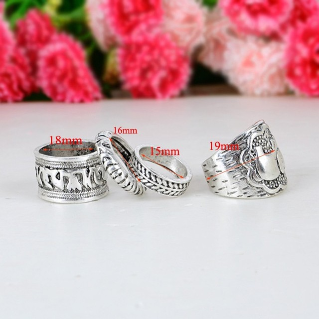 Four Elemental Elephant Rings Complect Release Wild