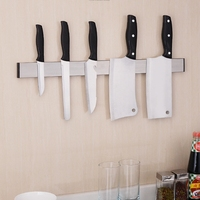 Magnet Kinife Block Adhesive Wall Mounted Stainless Steel Magnetic Knife Rack Knife Blocks