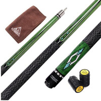 Stainless Steel 57 Inch Canadian Maple Wood 1 2 Jointed Pool Cue Stick Billiard Cue Cue