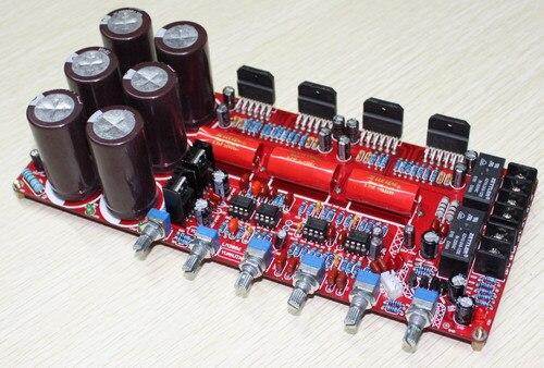 Carte amplificateur LM3886TF NE5532 2.1 canaux 68 W * 2 + 120 W carte amplificateur double AC20-28V