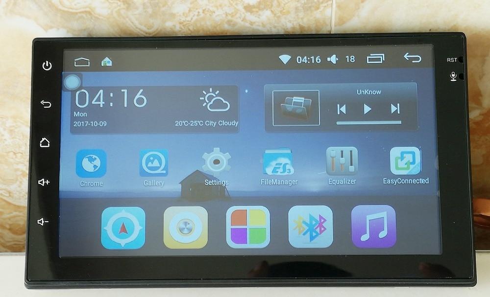 7 »HD 2Din емкостный Сенсорный экран android 6,0 dvd-плеер автомобиля стерео радио аудио Bluetooth USB/SD/FM /AM/CD/DVD/MP3/MP4