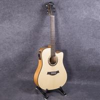 Guitar Acoustic Electric Steel String Balladry Folk Pop Thin Body Flattop 41 Inch Guitarra 6 String