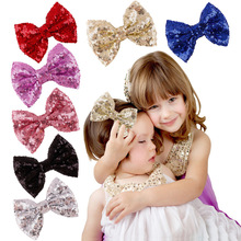 VTOM Children Hair Clip Hair Accessories Headwear Baby Bow Kids Baby Girls Hairpins Full Cover Clips shinely kids adult hair clip with bow tie decoration hair ornaments hairpins big gold hair accessories hair clips for women