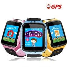 TWOX akıllı saat bebek Q528 çocuk GPS akıllı saat gps izci kamera ile el feneri seyretmek telefon Smartwatch PK Q90 Q100 Q50