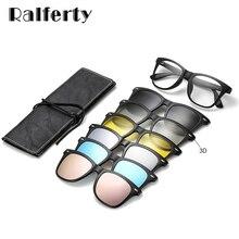 Ralferty Magnetic Sunglasses Women Clip On Sunglass Men Pola