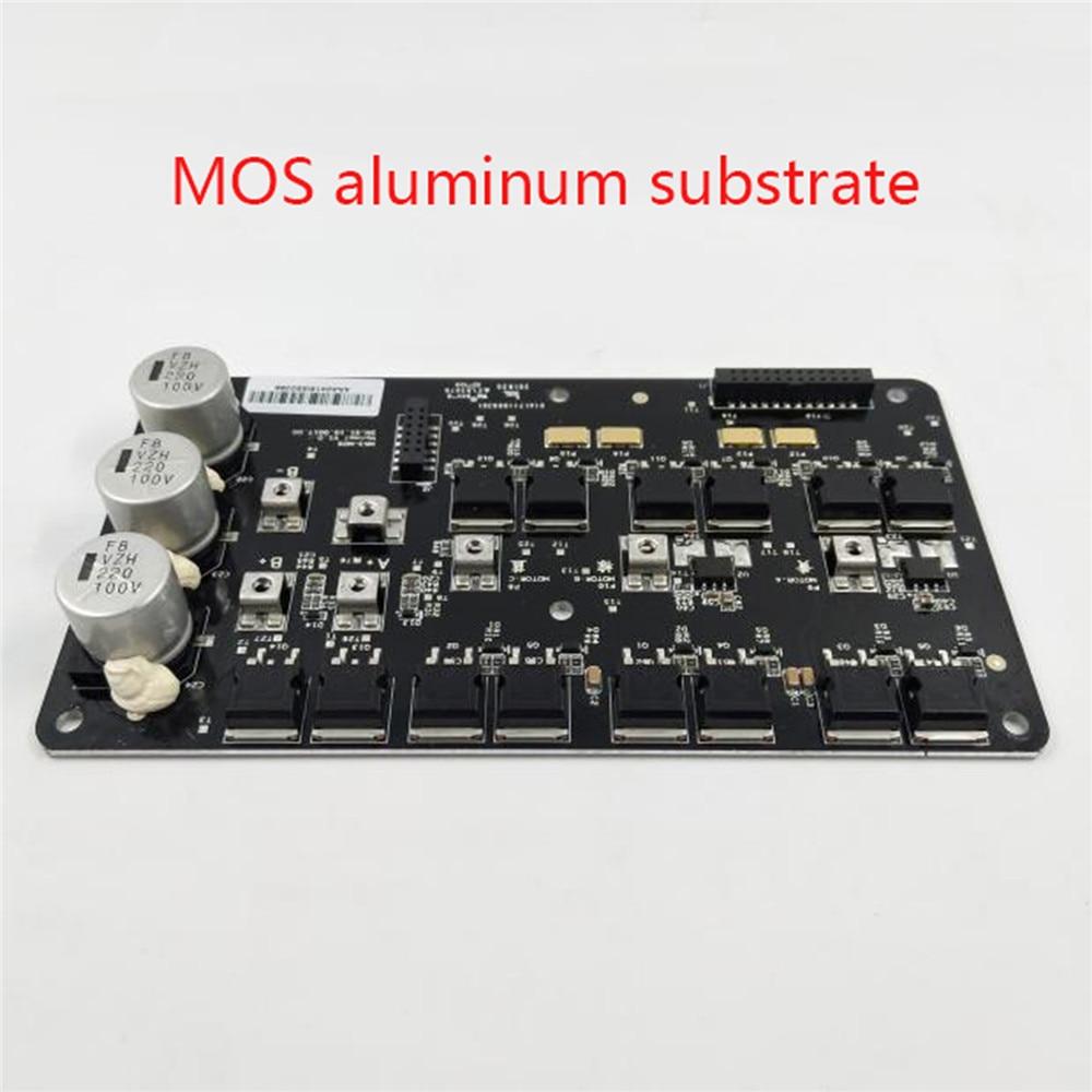 Original pour Ninebot Z6 Z8 Z10 panneau de commande MOS substrat en aluminium pour Ninebot One Z10 accessoires de réparation de monocycle électrique