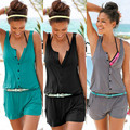 Women Summer Playsuit Bodycon Clubwear Evening Party Jumpsuit Romper Trousers