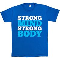 Strong Mind Strong Body Boot Camp Fitness Gym Mens T Shirt2019 short sleeve t shirt men fashion brand