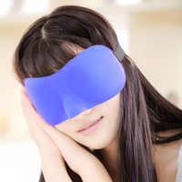 Economic3D Sleep Mask Natural Sleeping Eye Mask Eyeshade Cover Shade Eye Patch Women Men Soft Portable Blindfold Travel Eyepatch