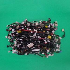 145 tipos 145 pces conector de alimentação dc jack para hp sony pavilion dc jack com cabo portátil dc jack cabo arnês portátil com cabo