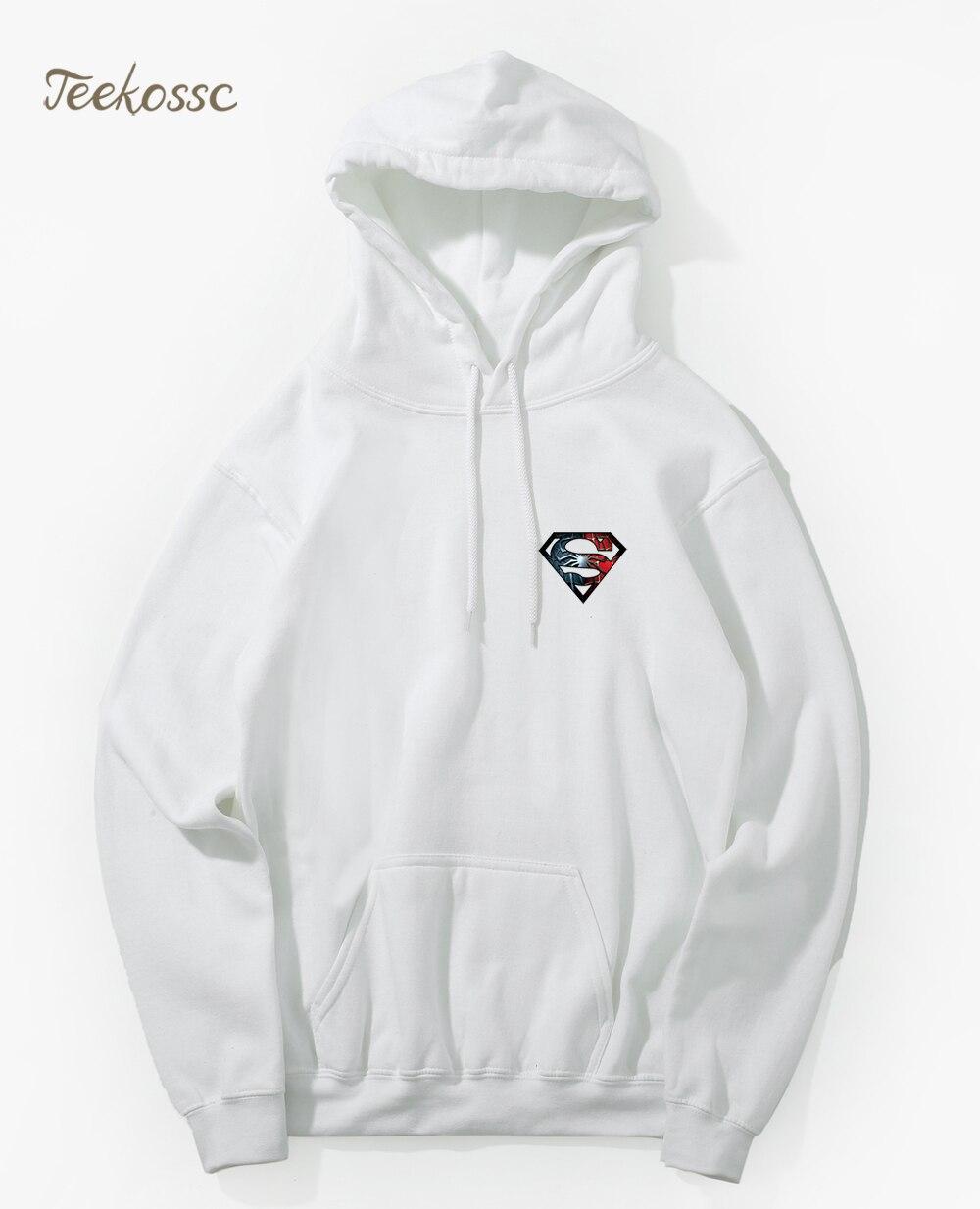 2018 New Brand Hoodie Men Superhero Hoodies Mens Workout Hooded Sweatshirt  2018 Winter Autumn Male Comfy Cool Hip Hop Streetwear-in Hoodies    Sweatshirts ... 7d5ef6d66