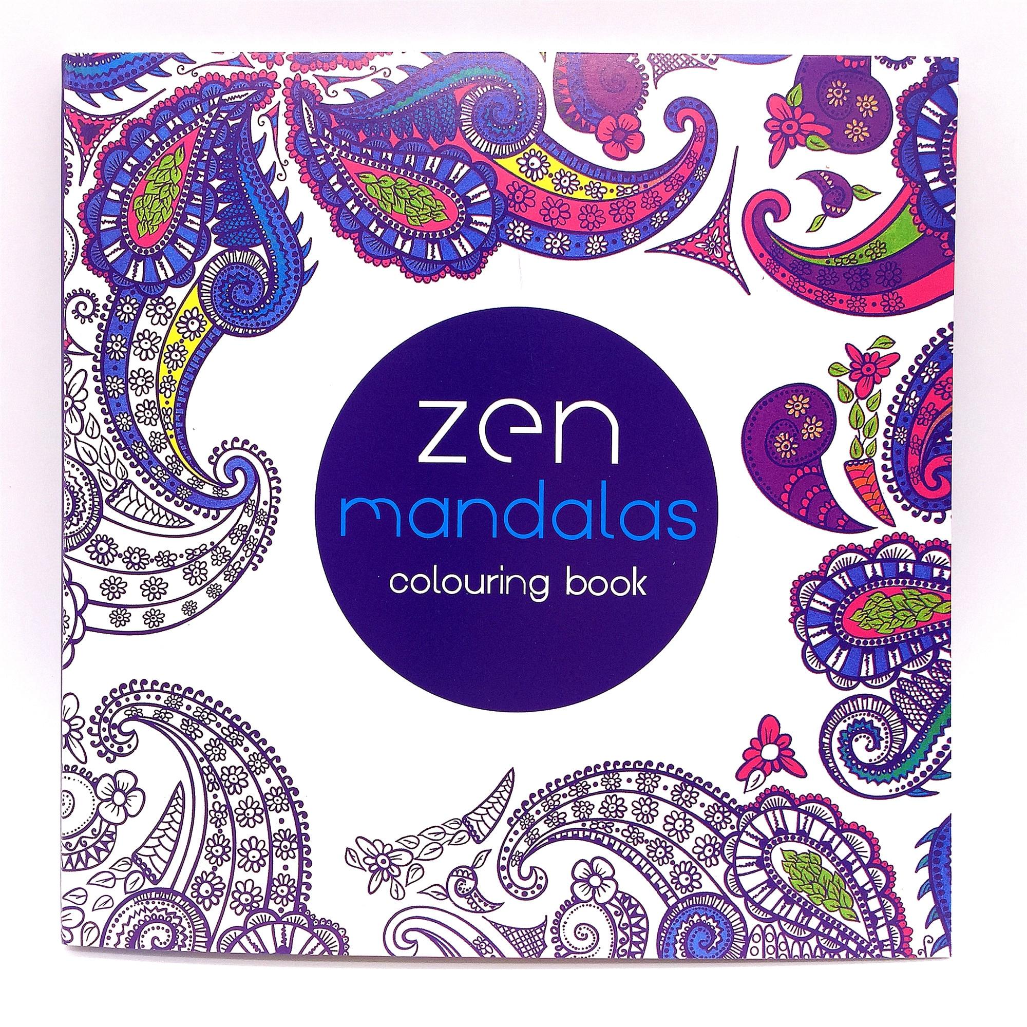 Coloring book untuk dewasa - 1 Pcs 62 Halaman 124 Diagram Dewasa Anak Graffiti Buku Zen Manddlds Mewarnai Buku Gratis Pengiriman