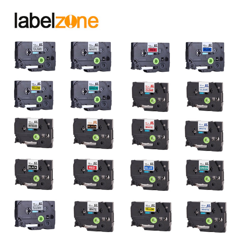 mixed-color-tze-tape-compatible-brother-tze231-tze-231-laminated-label-tape-for-brother-p-touch-tze131-tze431-tze531-tze631-731
