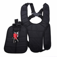 1pc Comfortable Double Shoudler Strimmer Harness Strap Harness Belt For Brush Cutter Grass Trimmer Mayitr