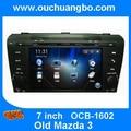 Мультимедиа стерео gps навигации для Mazda 3 2004-2009 поддержка радио DVD навигации бесплатно 2015 карта Чили испанский canbush