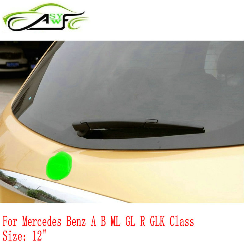 Car rear wiper blade back window wipers for Mercedes Benz A B ML GL R GLK Class 12 Rear Windscreen Wiper