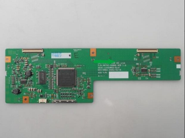 6870C-0080D LCD Board Logic Board For Connect With LC420W02-SLA1 T-CON Connect Board