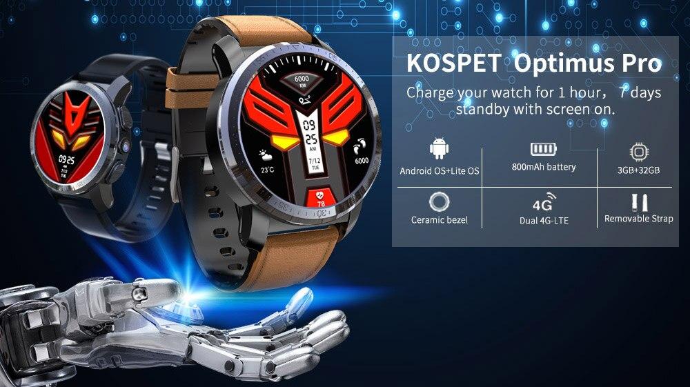 Kospet Optimus&Optimus Pro 3+32