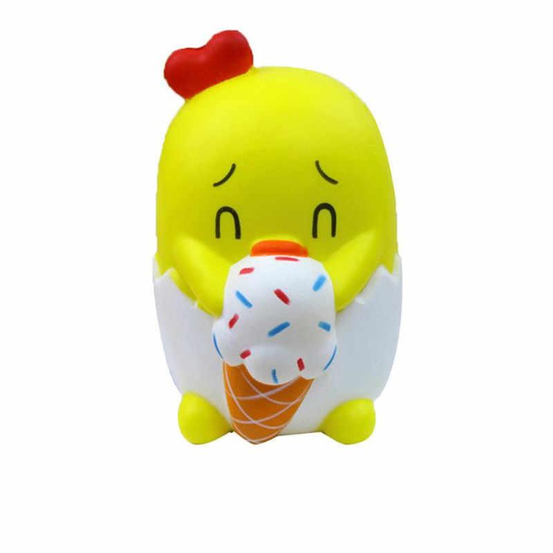 Transporte da gota atacado Adorável Pintainho Perfumado Charme Encantos Presentes Brinquedos S3MAY30 Lento Crescente Coleção Para Aliviar O Estresse Squeeze