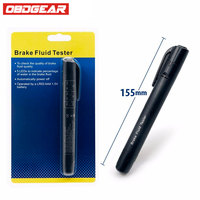 Brake Fluid Liquid Tester Pen With 5 LED Car Auto Vehicle Tools Car Vehicle Auto Automotive