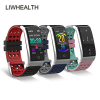 ECG/PPG Smart Watch Wristband Heart Rate Cardiaco Monitor Blood pressure Pulse Smartwatch Clock Health IOS/Android PK Fit Bits