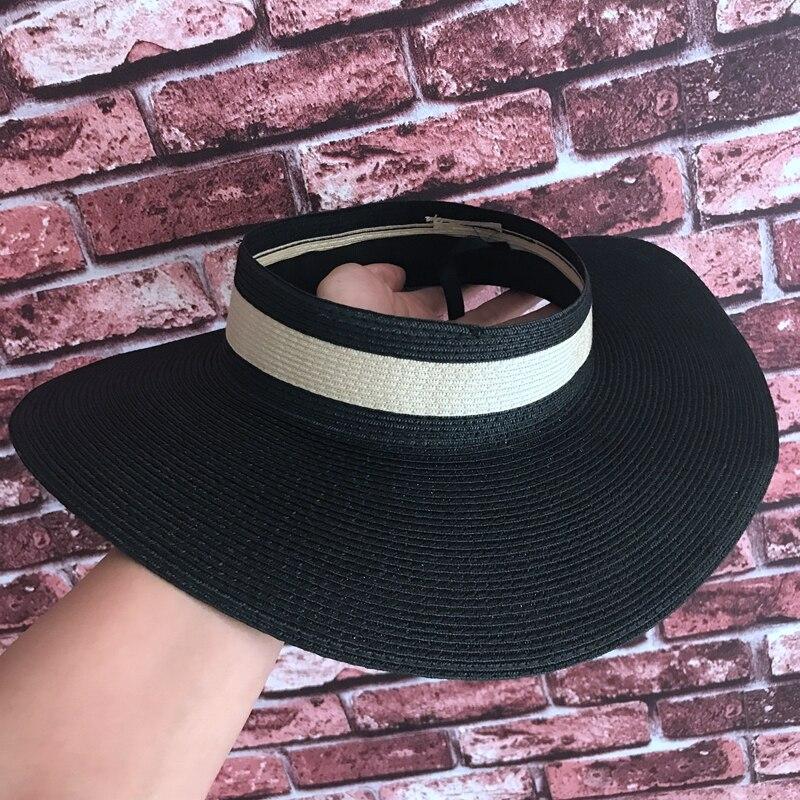 40860fbd4e Compre Esvazie O Chapéu Palha Verão Guarda Sol Euramerican Moda ...