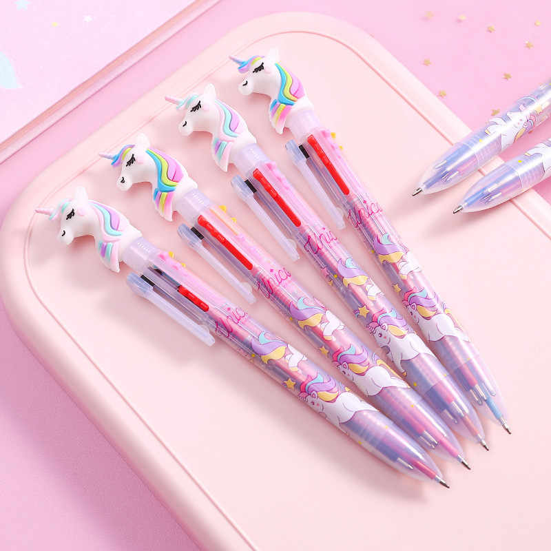 Baby Shower Unicorn Party Flamingo Signature Gel Pen Birthday Party Decorations Kids Adults Wedding Decoration Gifts Supplies