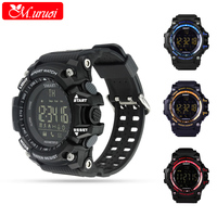 M Uruoi Wearable Devices Sport Tracker Wrist Watch 5ATM Waterproof Watch Swimming Smartwach For Android IOS
