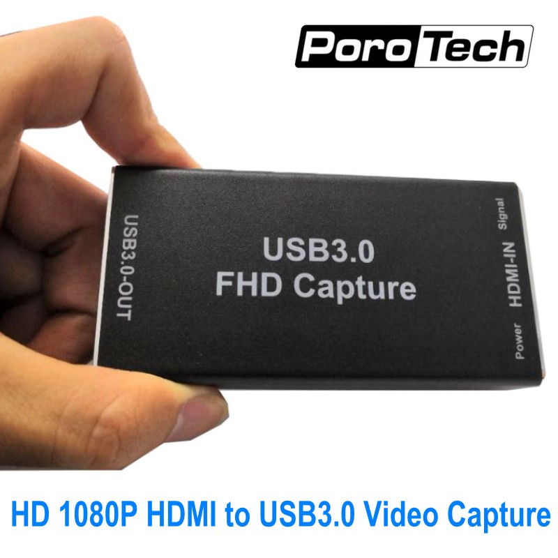 USB3.0 Video Capture Card VC30 1080P 60FPS HDMI to USB3.0 VIDEO CAPTURE Game Streaming Live Stream Broadcast Windows Linux IOS
