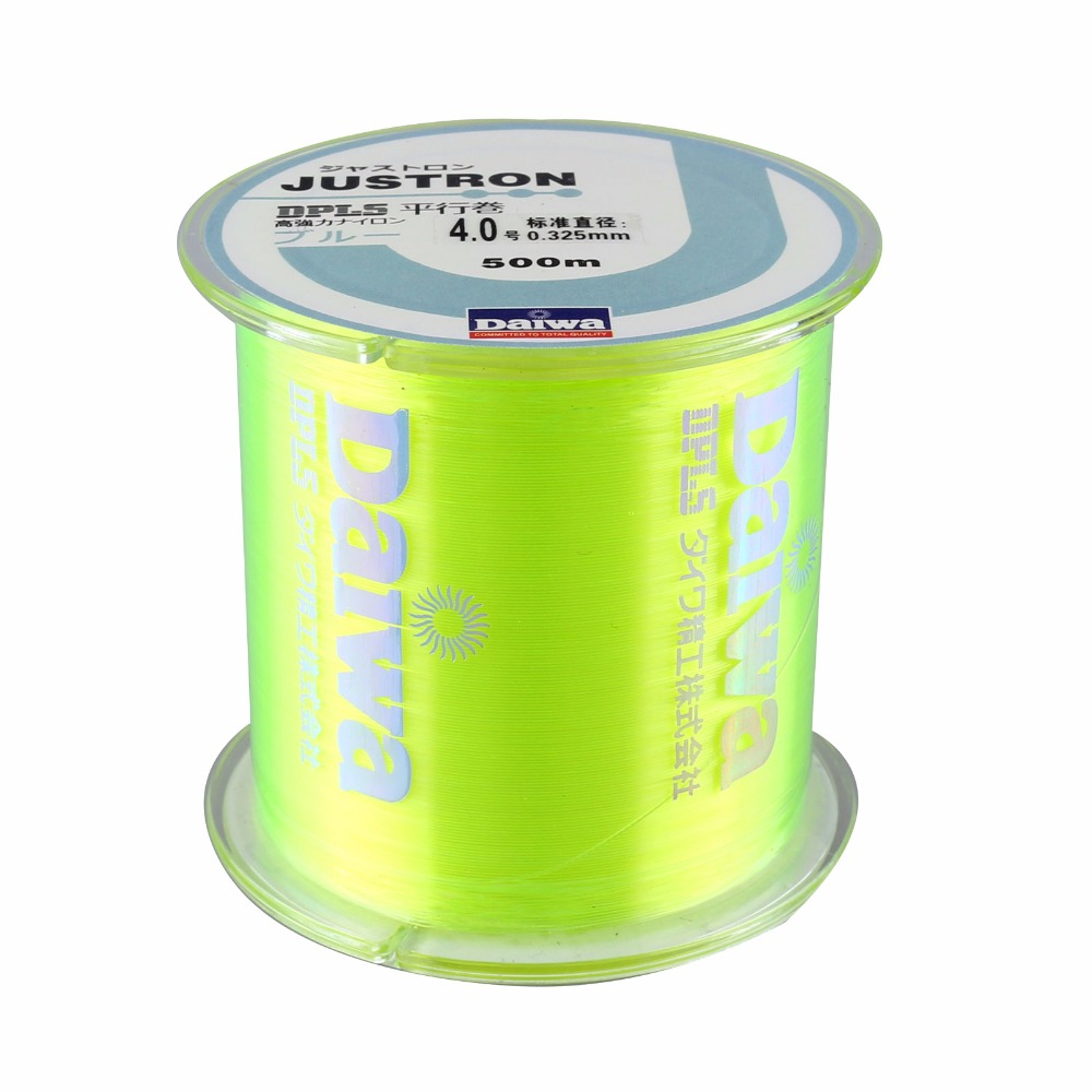 DNDYUJU Fishing-Line Spool Thread Monofilament Nylon Japanese 500M Durable Rock To Sea