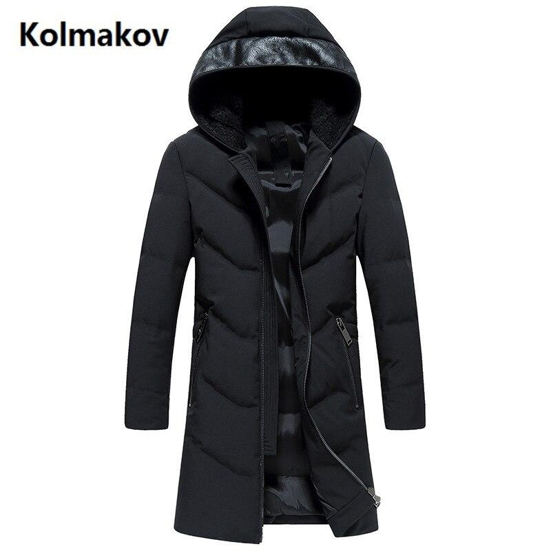 2017 Neue Mode Mäntel Herren Kapuzen Keep Warm Verdicken 90% Weiße Ente Unten Mäntel Jacke Herren Winter Jacken Dauerhafter Service