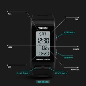 Image 5 - SKMEI Luxury Digital Watch Men Women Pedometer Calories Sports Watches Waterproof LED Electronic Wrist Watch Clock Male
