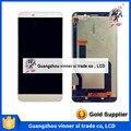 De alta Calidad Para Le Letv Pro X800 Pantalla LCD Con Pantalla Táctil Digitalizador Replacemnet Blanco y Oro El Envío Libre