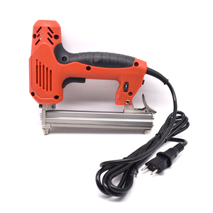 Image 2 - 1022J Framing Tacker U Stapler Electric Staples Gun With 300Pcs Nails 220V 2000W Electric Power Tools For Woodworking Hand Tool