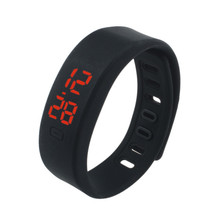 Hot Sale Rubber band women men digital watches sport Wrist Digital watches men luxury brand  MAY10