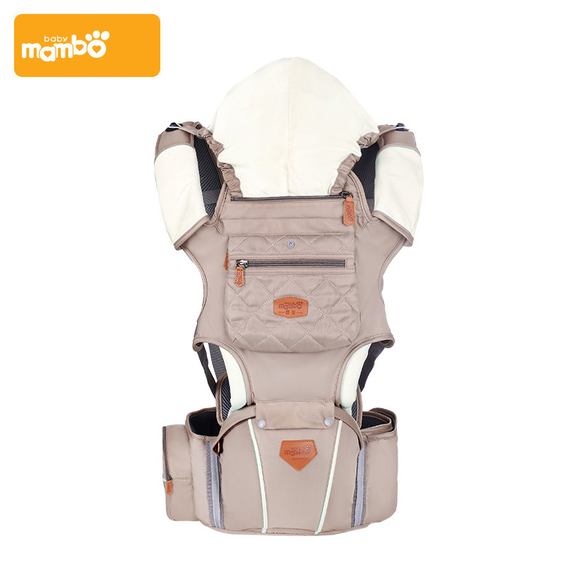 Mambobaby Baby Sling Ergonomic Solid Multifunction Baby Backpack Adjustable Infant Sling Bags Breathable Front Baby Wrap Pouch mambobaby лесные эльфы