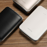 Universal REMAX PPL 22 mini Portable Power Bank Double USB Charging Power bank External Mobile Phones Battery Charger 10000 mAh