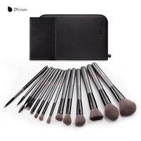 DUcare Professional 15pcs Makeup Brushes Set Powder Foundation Eyeshadow Eyeliner Lip Brush Tool Make Up Brush