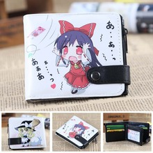 love live lovelive! Kotori Minami  pu folding wallet anime fashion button purse