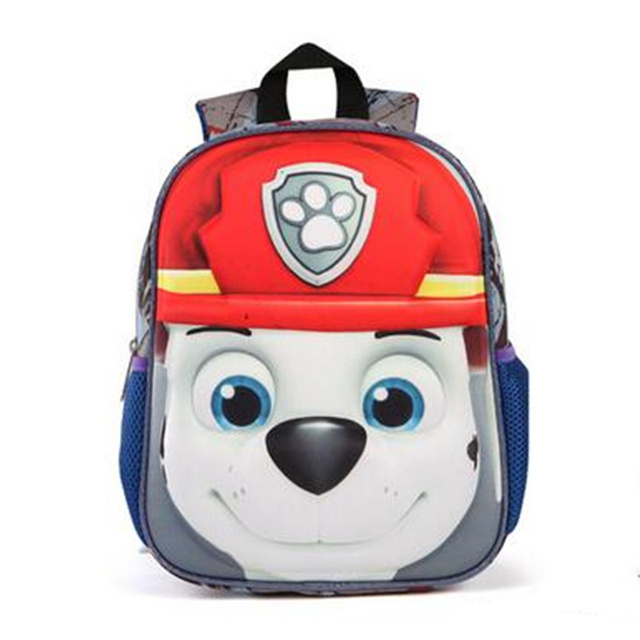 3D Bags for girls backpack kids Puppy mochilas escolares infantis children  school bags lovely Satchel School 84a3fe816040f