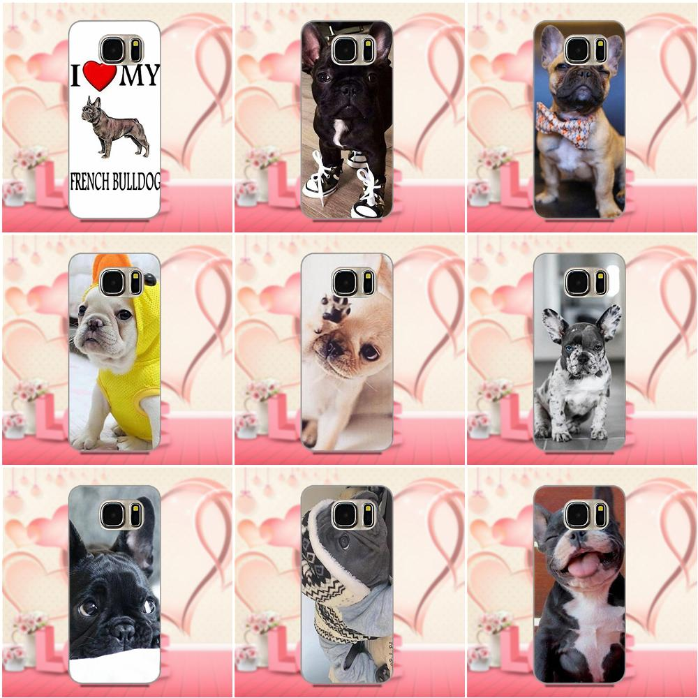 Soft Cool Best French Bulldog I Love My Dog Photo For Xiaomi Redmi 5 4A 3 3S Pro Mi4 Mi4i Mi5 Mi5S Mi Max Mix 2 Note 3 4 Plus