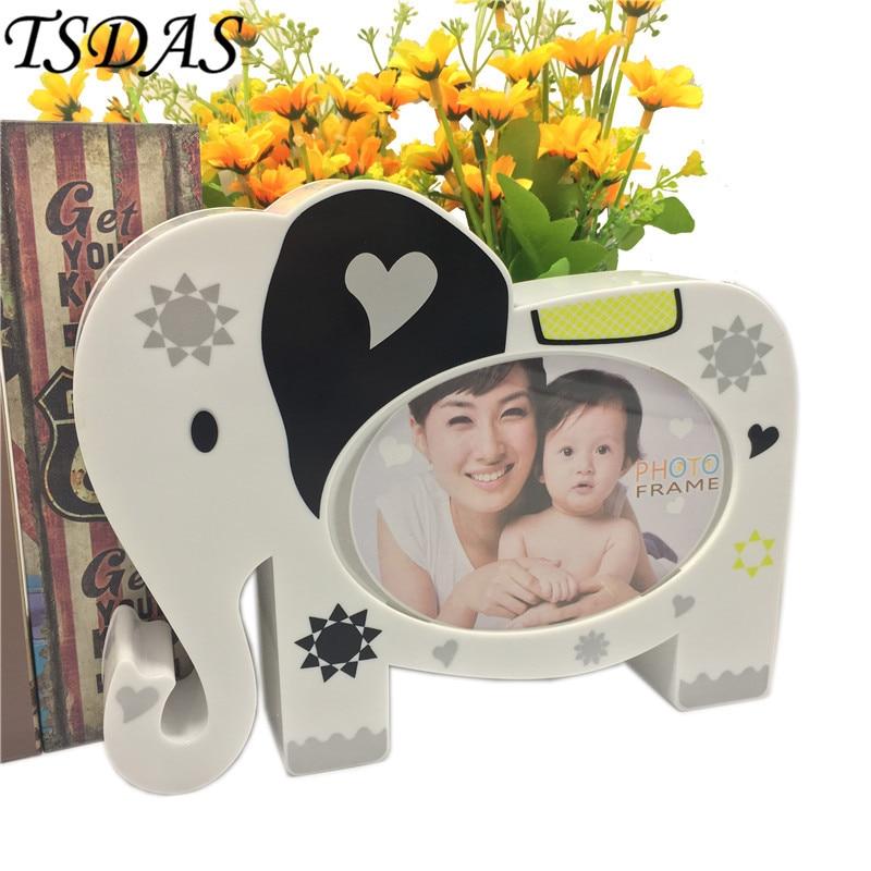 Großhandel Moderne Stil 6 Zoll Elefanten Foto Rahmen Kreative ...