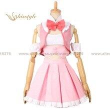Kisstyle moda más allá del límite mirai kuriyama sexta dress dage cos ropa cosplay traje de uniforme, modificado para requisitos particulares aceptado