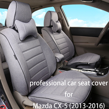Kction Car Seat Cover Set for Mazda CX-5(2013-2016)Water-proof Protector Styling Interior Accessories Auto